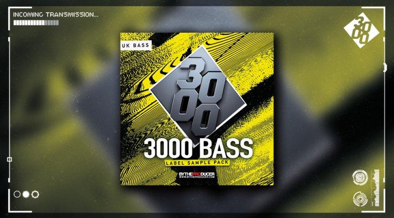 3000 Bass Label Sample Pack